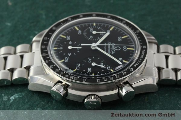 Used luxury watch Omega Speedmaster chronograph steel automatic Kal. 1140 ETA 2890-2  | 142649 05