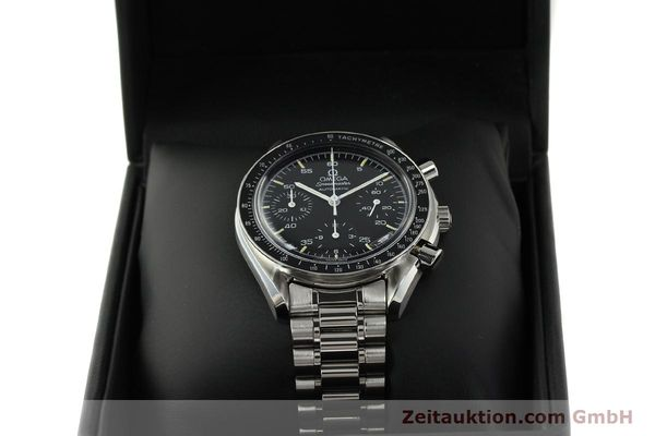 Used luxury watch Omega Speedmaster chronograph steel automatic Kal. 1140 ETA 2890-2  | 142649 07