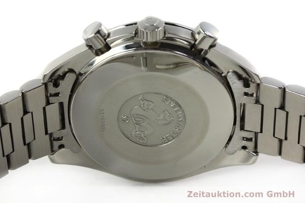 Used luxury watch Omega Speedmaster chronograph steel automatic Kal. 1140 ETA 2890-2  | 142649 08