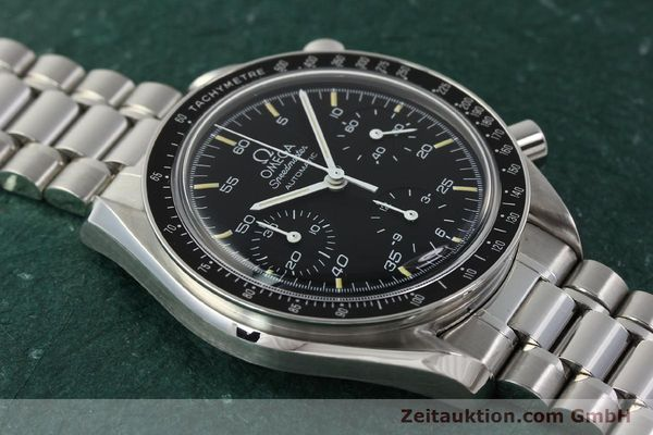 Used luxury watch Omega Speedmaster chronograph steel automatic Kal. 1140 ETA 2890-2  | 142649 14