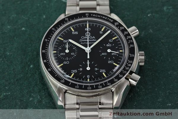 Used luxury watch Omega Speedmaster chronograph steel automatic Kal. 1140 ETA 2890-2  | 142649 15