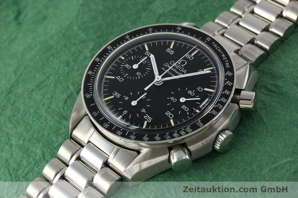 Used luxury watch Omega Speedmaster chronograph steel automatic Kal. ETA 2890-2  | 142651 01