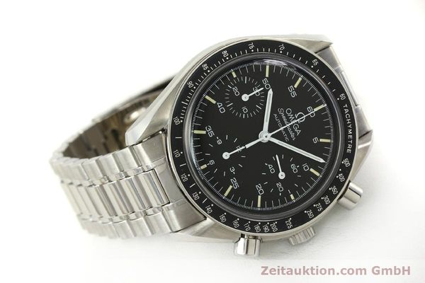Used luxury watch Omega Speedmaster chronograph steel automatic Kal. ETA 2890-2  | 142651 03