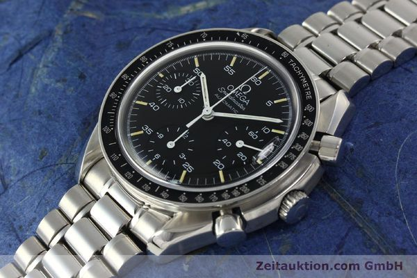 Used luxury watch Omega Speedmaster chronograph steel automatic Kal. 1143  | 142656 01