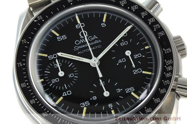 Used luxury watch Omega Speedmaster chronograph steel automatic Kal. 1143  | 142656 02
