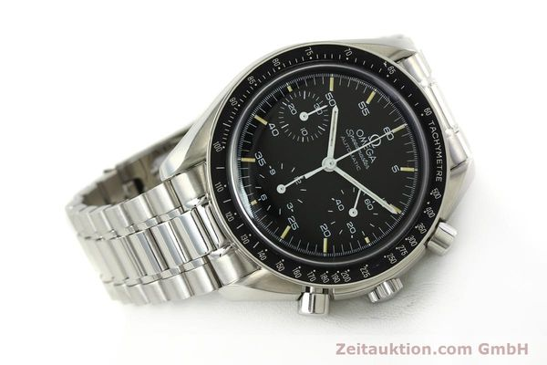 Used luxury watch Omega Speedmaster chronograph steel automatic Kal. 1143  | 142656 03