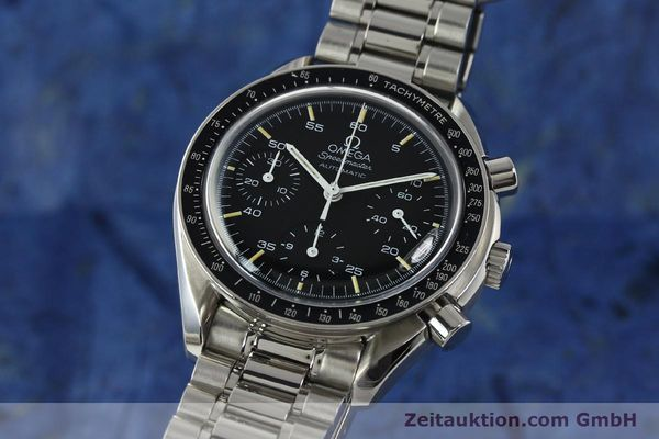 Used luxury watch Omega Speedmaster chronograph steel automatic Kal. 1143  | 142656 04