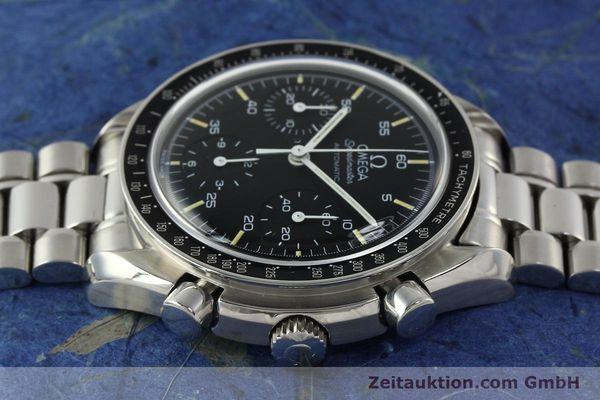 Used luxury watch Omega Speedmaster chronograph steel automatic Kal. 1143  | 142656 05