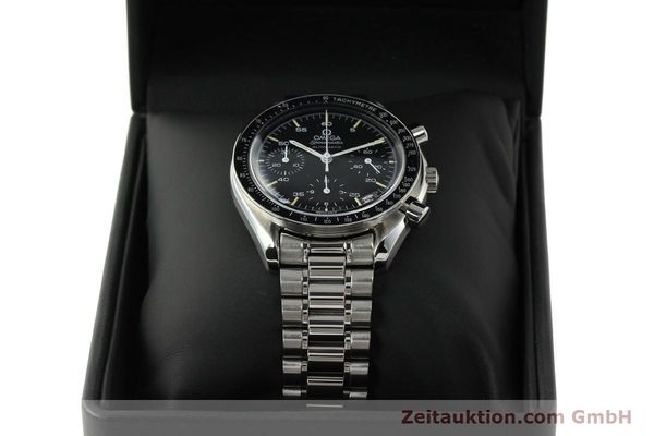 Used luxury watch Omega Speedmaster chronograph steel automatic Kal. 1143  | 142656 07