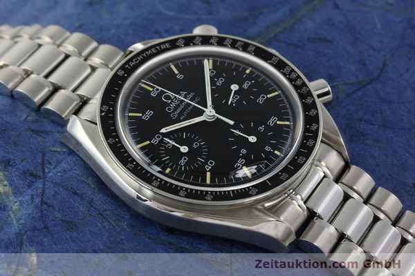 Used luxury watch Omega Speedmaster chronograph steel automatic Kal. 1143  | 142656 15