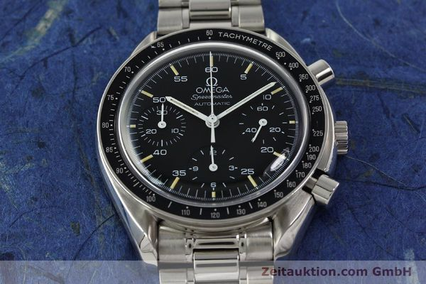 Used luxury watch Omega Speedmaster chronograph steel automatic Kal. 1143  | 142656 16