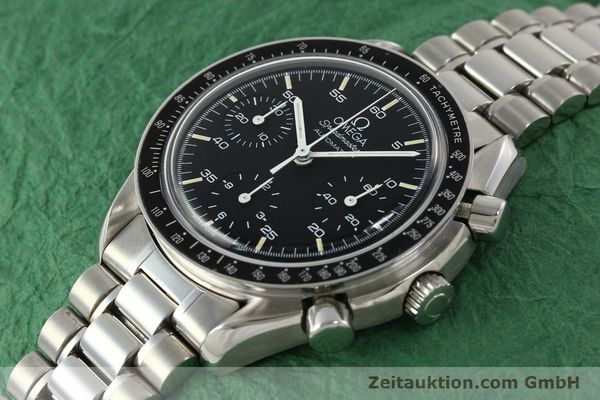 Used luxury watch Omega Speedmaster chronograph steel automatic Kal. ETA 2890-2  | 142659 01