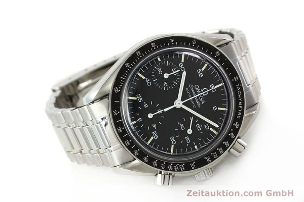 Used luxury watch Omega Speedmaster chronograph steel automatic Kal. ETA 2890-2  | 142659 03
