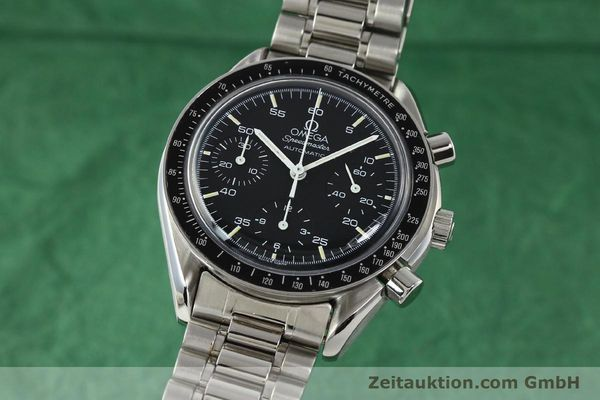 Used luxury watch Omega Speedmaster chronograph steel automatic Kal. ETA 2890-2  | 142659 04