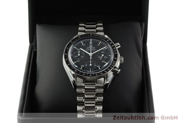 Used luxury watch Omega Speedmaster chronograph steel automatic Kal. ETA 2890-2  | 142659 07