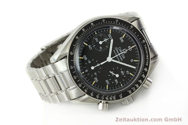 Used luxury watch Omega Speedmaster chronograph steel automatic Kal. 1140 ETA 2890-2  | 142660 03