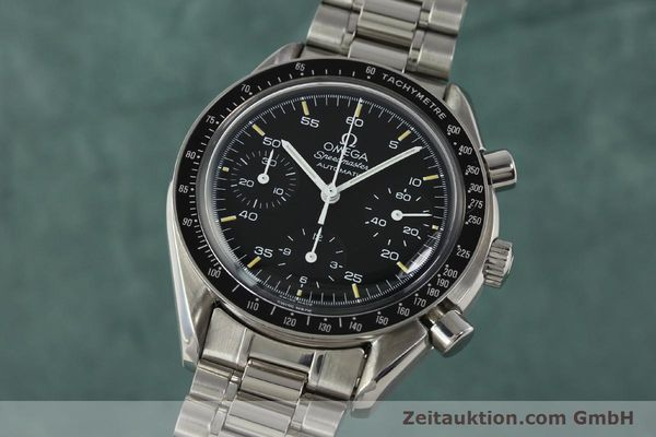 Used luxury watch Omega Speedmaster chronograph steel automatic Kal. 1140 ETA 2890-2  | 142660 04