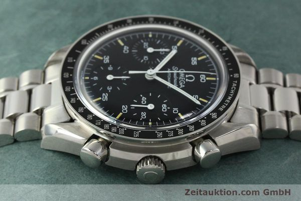 Used luxury watch Omega Speedmaster chronograph steel automatic Kal. 1140 ETA 2890-2  | 142660 05