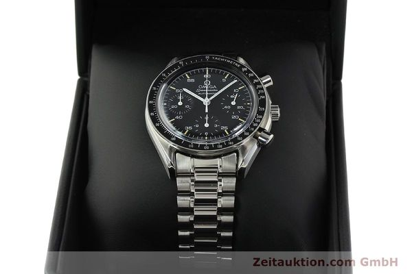 Used luxury watch Omega Speedmaster chronograph steel automatic Kal. 1140 ETA 2890-2  | 142660 07