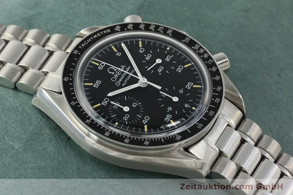 Used luxury watch Omega Speedmaster chronograph steel automatic Kal. 1140 ETA 2890-2  | 142660 15