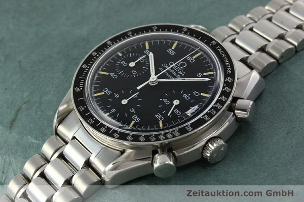 Used luxury watch Omega Speedmaster chronograph steel automatic Kal. 1140 ETA 2890-2  | 142662 01