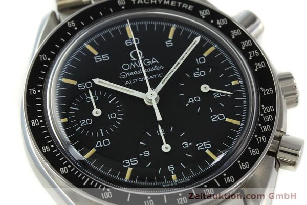 Used luxury watch Omega Speedmaster chronograph steel automatic Kal. 1140 ETA 2890-2  | 142662 02