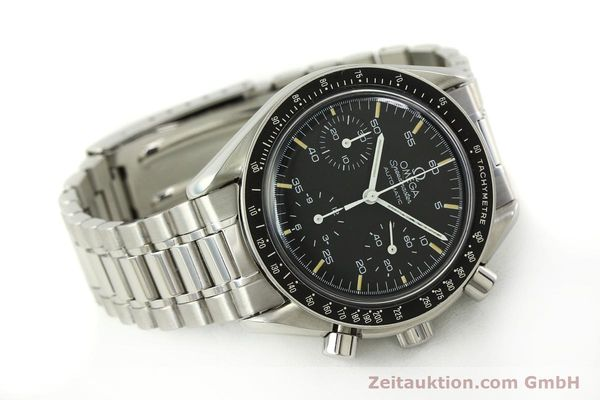 Used luxury watch Omega Speedmaster chronograph steel automatic Kal. 1140 ETA 2890-2  | 142662 03
