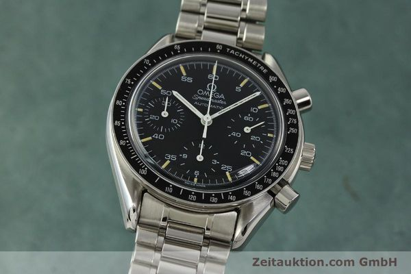 Used luxury watch Omega Speedmaster chronograph steel automatic Kal. 1140 ETA 2890-2  | 142662 04