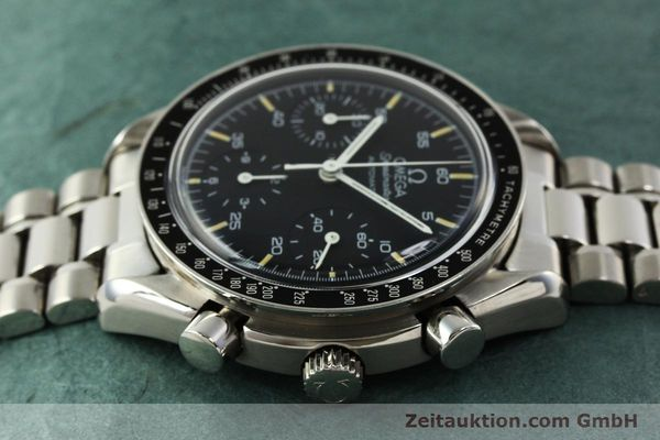 Used luxury watch Omega Speedmaster chronograph steel automatic Kal. 1140 ETA 2890-2  | 142662 05