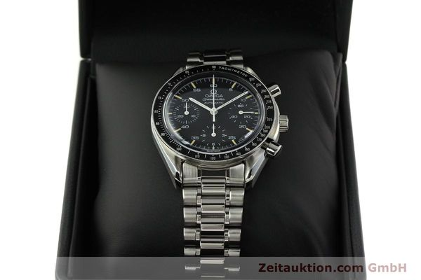 Used luxury watch Omega Speedmaster chronograph steel automatic Kal. 1140 ETA 2890-2  | 142662 07