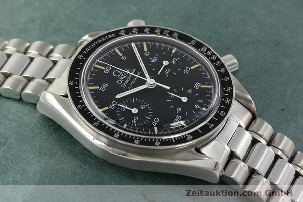 Used luxury watch Omega Speedmaster chronograph steel automatic Kal. 1140 ETA 2890-2  | 142662 14