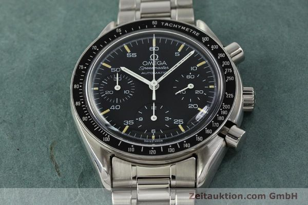 Used luxury watch Omega Speedmaster chronograph steel automatic Kal. 1140 ETA 2890-2  | 142662 15