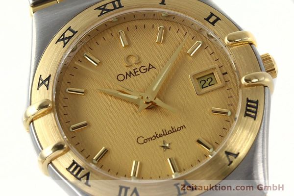 montre de luxe d occasion Omega Constellation acier / or  quartz Kal. 1424 ETA 25646  | 142664 02