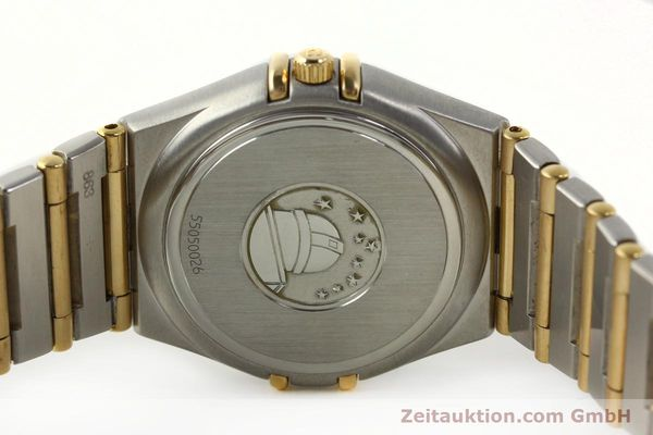 montre de luxe d occasion Omega Constellation acier / or  quartz Kal. 1424 ETA 25646  | 142664 09