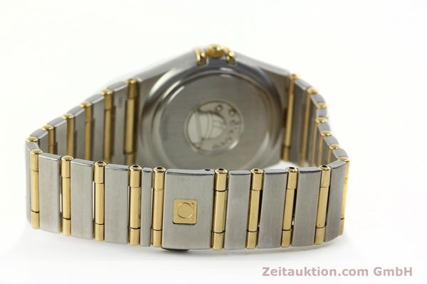 montre de luxe d occasion Omega Constellation acier / or  quartz Kal. 1424 ETA 25646  | 142664 11