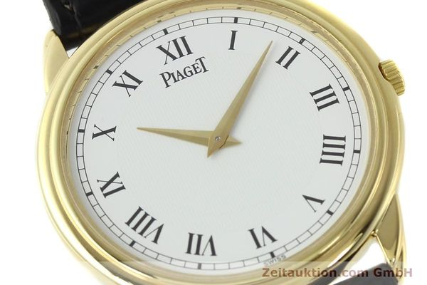 Used luxury watch Piaget Skeleton 18 ct gold manual winding Kal. 9P2 Ref. 90970  | 142667 02