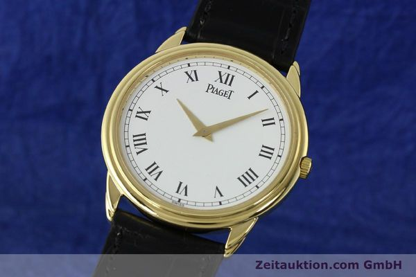 Used luxury watch Piaget Skeleton 18 ct gold manual winding Kal. 9P2 Ref. 90970  | 142667 04