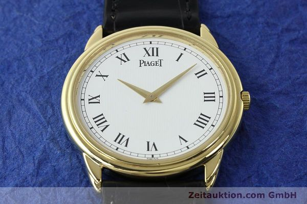 Used luxury watch Piaget Skeleton 18 ct gold manual winding Kal. 9P2 Ref. 90970  | 142667 17