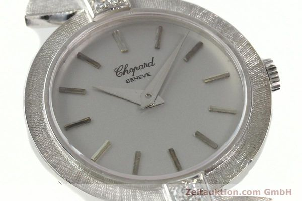 Used luxury watch Chopard * 18 ct white gold manual winding Kal. ETA 2512  | 142668 02