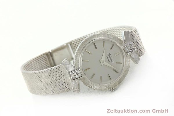 Used luxury watch Chopard * 18 ct white gold manual winding Kal. ETA 2512  | 142668 03