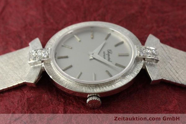 Used luxury watch Chopard * 18 ct white gold manual winding Kal. ETA 2512  | 142668 05