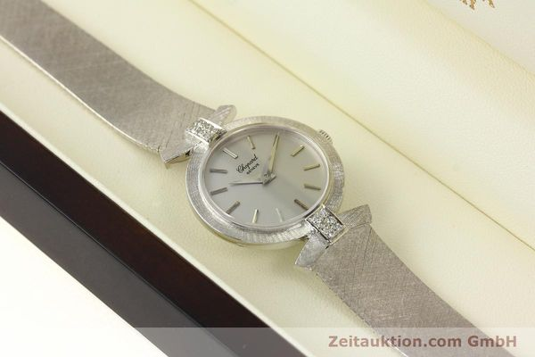 Used luxury watch Chopard * 18 ct white gold manual winding Kal. ETA 2512  | 142668 07