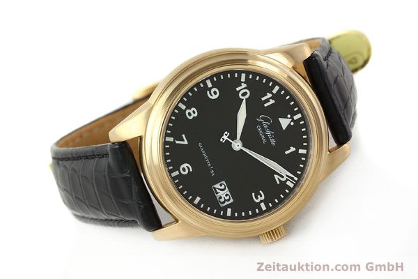 Used luxury watch Glashütte Navigator 18 ct red gold automatic Kal. 39-41  | 142670 03