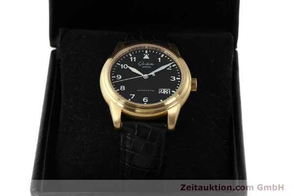 Used luxury watch Glashütte Navigator 18 ct red gold automatic Kal. 39-41  | 142670 07