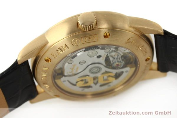 Used luxury watch Glashütte Navigator 18 ct red gold automatic Kal. 39-41  | 142670 08