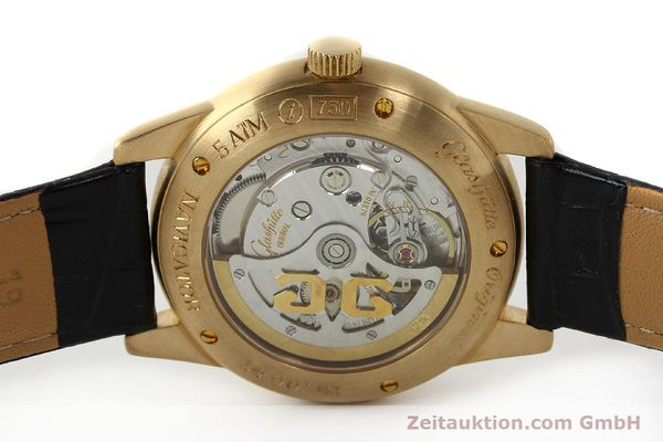 Used luxury watch Glashütte Navigator 18 ct red gold automatic Kal. 39-41  | 142670 09