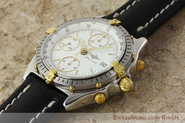 Used luxury watch Breitling Chronomat chronograph steel / gold automatic Kal. ETA 7750 Ref. 81.950  | 142675 01