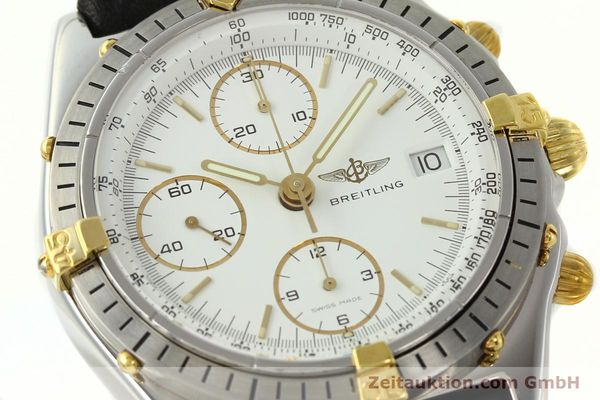 Used luxury watch Breitling Chronomat chronograph steel / gold automatic Kal. ETA 7750 Ref. 81.950  | 142675 02