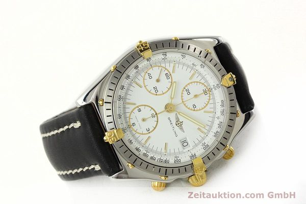 Used luxury watch Breitling Chronomat chronograph steel / gold automatic Kal. ETA 7750 Ref. 81.950  | 142675 03