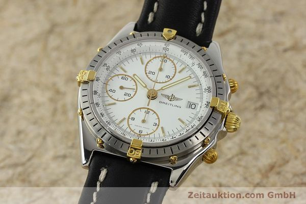 Used luxury watch Breitling Chronomat chronograph steel / gold automatic Kal. ETA 7750 Ref. 81.950  | 142675 04